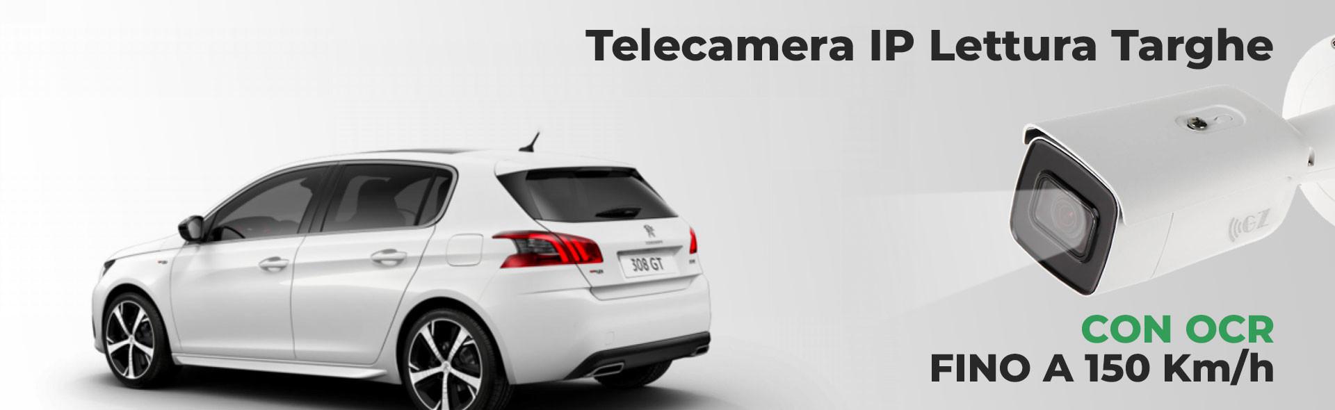 Telecamera IP Lettura Targhe OCR Rilevamento Targa ANPR